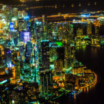 Downtown_Miami_from_the_air_at_night__2812259733223_29